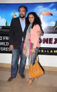 Kabir Bedi & Parveen Dusanj
