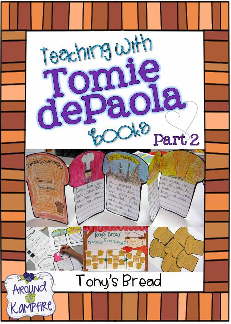 Teaching with Tomie dePaola books Part 2: Tony's Bread and The Art Lesson