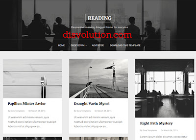 Template Terbaru 2017 Template Reading Download Gratis