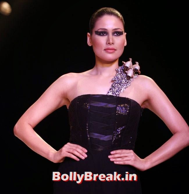 , Indian Supermodels Aanchal Kumar, Deepti Gujral Pics from IIJW 2014