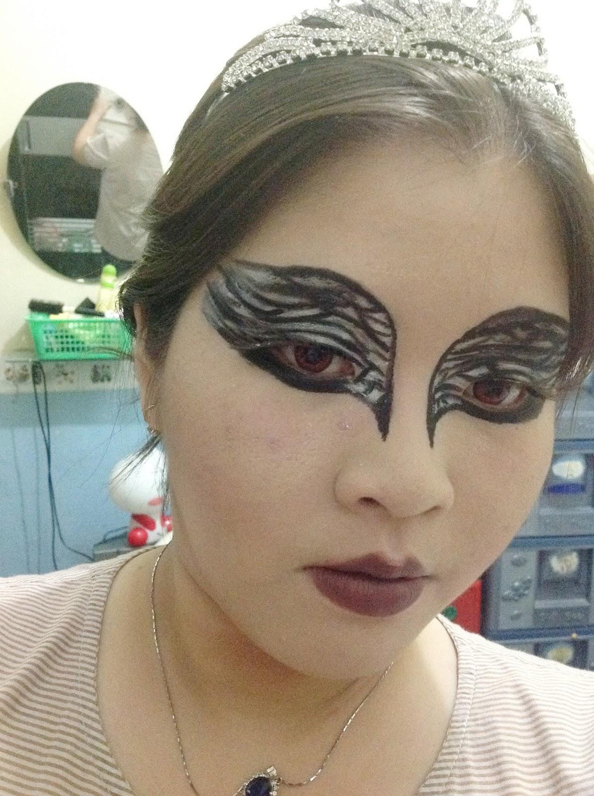 Aninimal Book: ღ Queen's Eye ღ : Black Swan Inspired Make Up Look