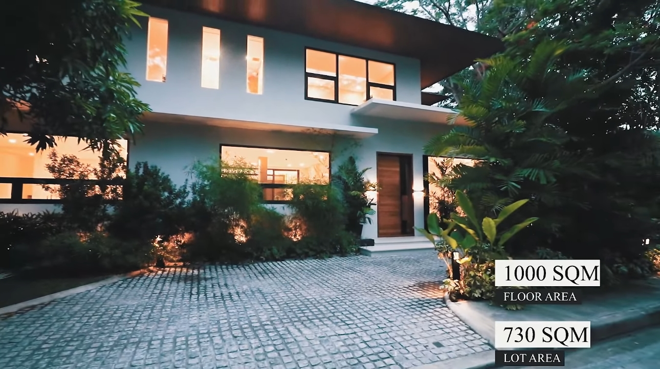 8 Photos vs. OPEN House A12 || Ayala Alabang EXCEPTIONAL TROPICAL OASIS, Brand New House and Lot for Sale - Luxury Home Video Tour