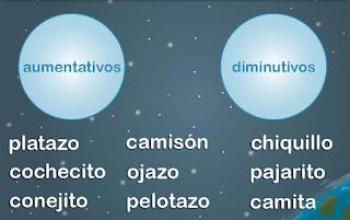 http://www.mundoprimaria.com/juegos-lenguaje/juego-diminutivos-aumentativos/