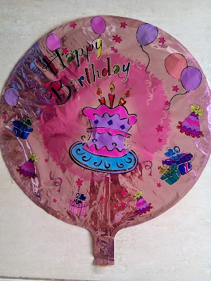 Balon Foil Dekorasi Happy Birthday (FD HB01)
