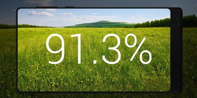 Bebas Bezel Dengan Xiaomi Mi Mix