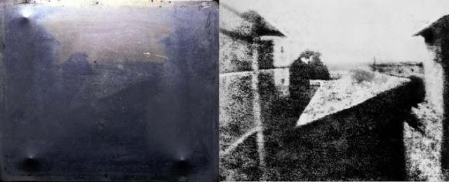 Primeira fotografia da história (Imagem: Reprodução/Megacurioso)