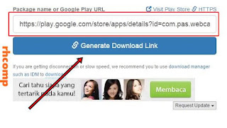 Cara Mendownload File APK di Google Play Store