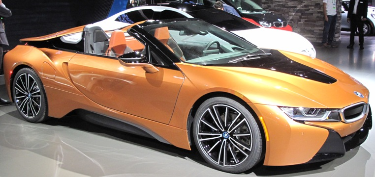 Saxton On Cars L A Auto Show 2019 Bmw I8 Roadster World Debut
