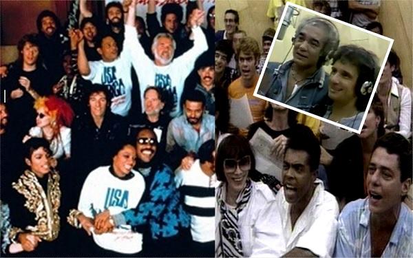 Relembre o 'We are the World brasileiro', gravado em 1985 (Imagem: Reprodução/Montagem)