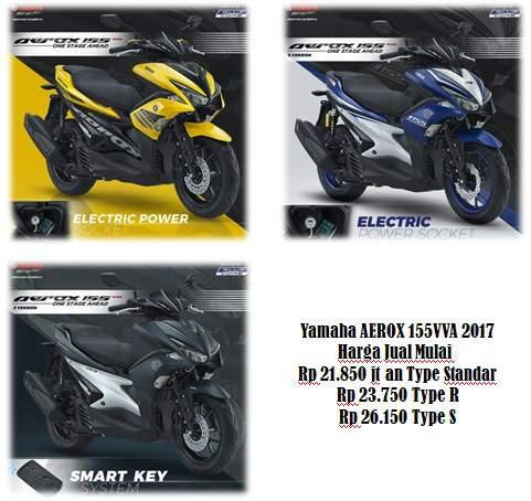 Harga-Yamaha-AEROX155vva