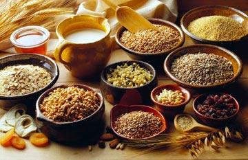 Thực phẩm mát gan giải độc - Các loại ngũ cốc