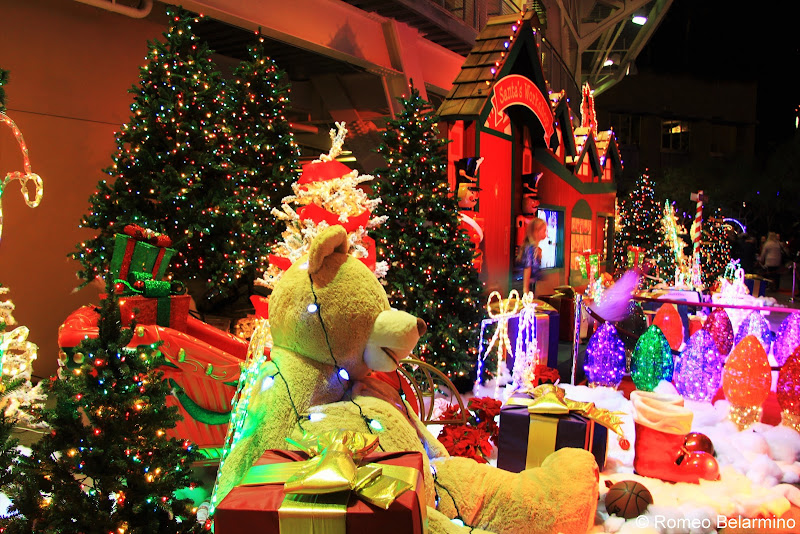 Santa's Workshop Holiday Wonderland at Petco Park San Diego Christmas