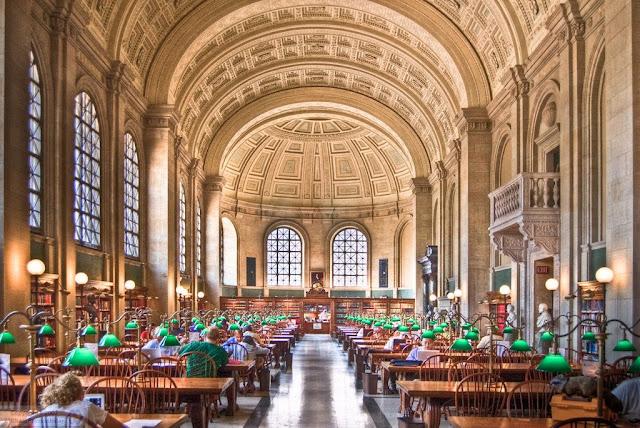 boston public library eeuu a golpe de objetivo
