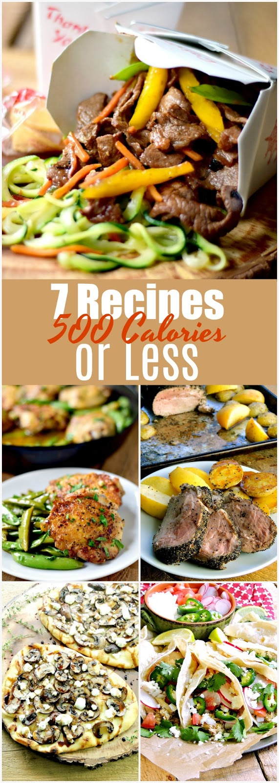 A weeks worth of recipe that are 500 calories or less. #healthy #lowcalorie #dietfriendly #kidfriendly #easy #recipe | bobbiskozykitchen.com