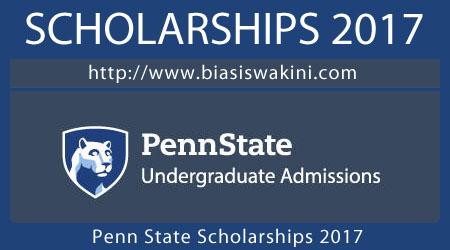 Penn State Scholarships 2017