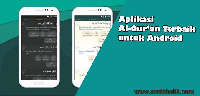 5 Aplikasi Al-Qur'an Terbaik untuk SmartPhone