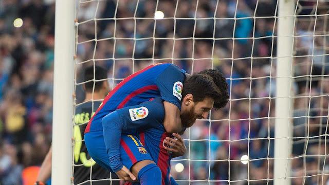 Sambil Menikmati Masa Liburan, Dani Alves Beri Tantangan untuk Messi dan Neymar