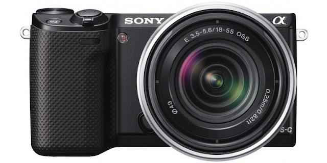 Fotografia della Sony Alpha NEX-5R