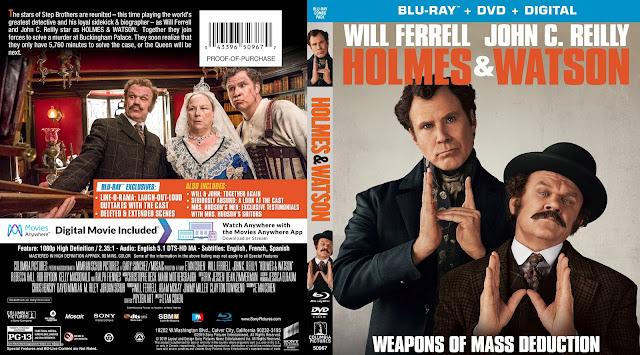 Holmes & Watson Bluray Bluray Cover