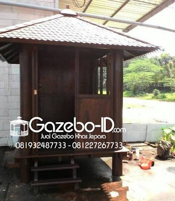 Gazebo Glugu Pos Security