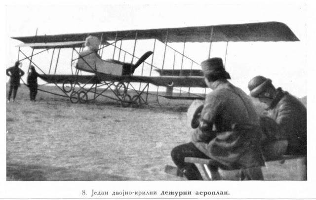 A double deck aeroplane as a aervice apparatus.