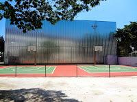 Quadra no Centro Esportivo Tietê em São Paulo