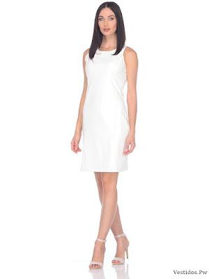 Vestidos para graduacion blancos