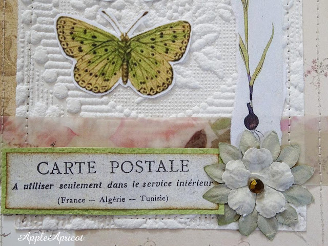 butterfly card by AppleApricot (detail)