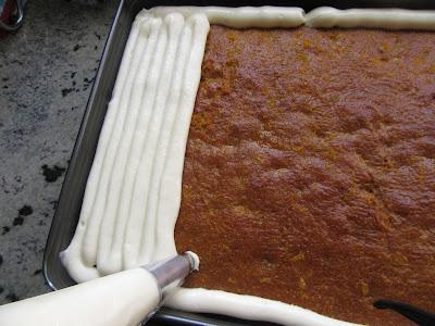 Borrachines carrot cake Thermomix