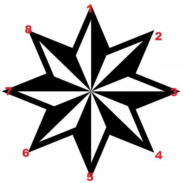 51+ Gambar Bintang Delapan Kekinian