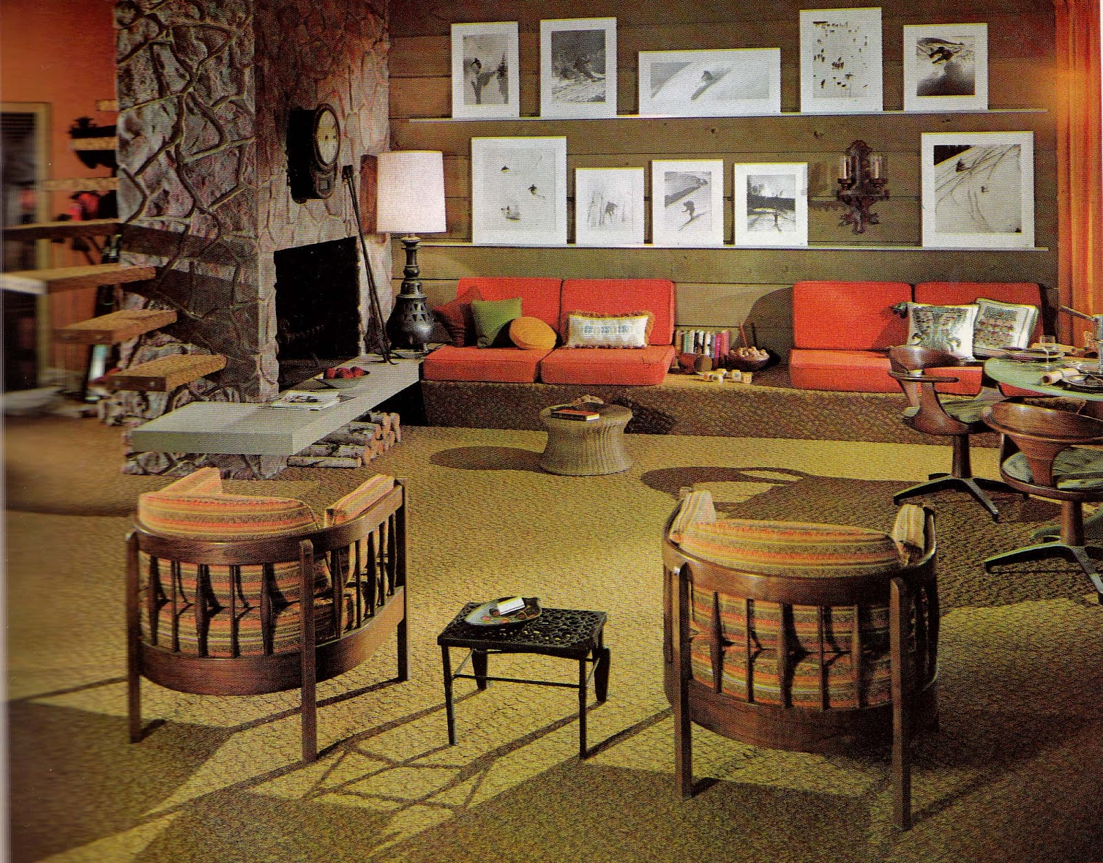 S Design Interieur 1960s Interior Décor The Decade Of Psychedelia Gave Rise