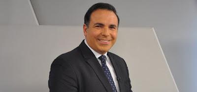 O apresentador Reinaldo Gottino, que deixará a Record