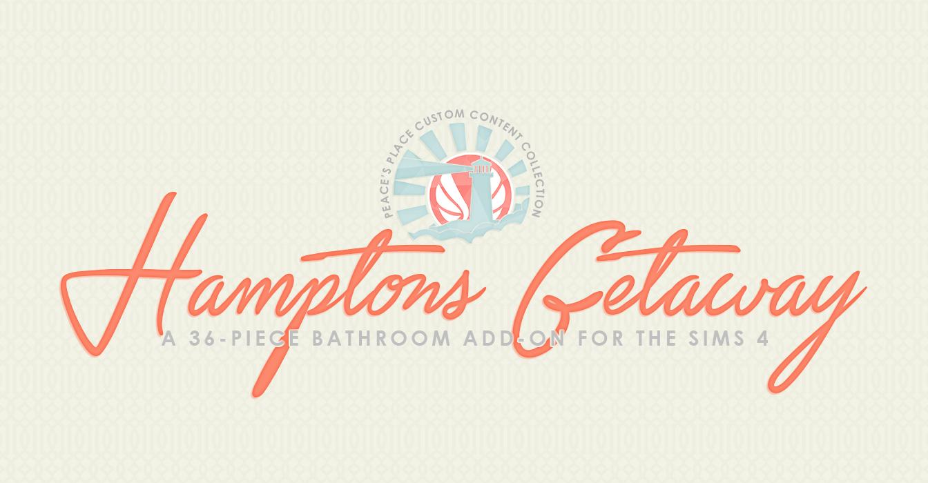 Hamptons Getaway Bathroom Addon