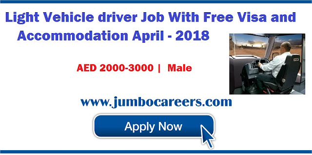 dubai driver jobs salary, dubai driver job vacancy, dubai driver job urgent