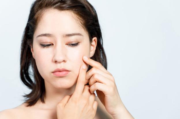 press Stop acne