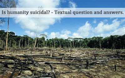 Is humanity suicidal edward o wilson