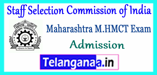 Directorate of Technical Education Maharashtra M.HMCT Admission 2018 Notification Application