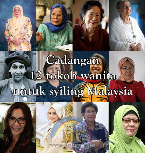 tokoh wanita Malaysia