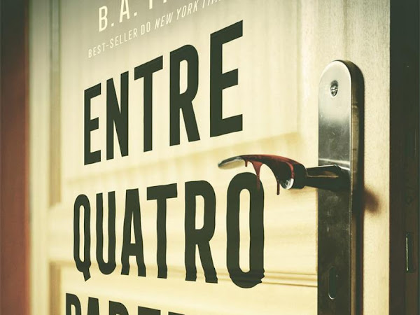 [Resenha] Entre quatro paredes - B. A. Paris