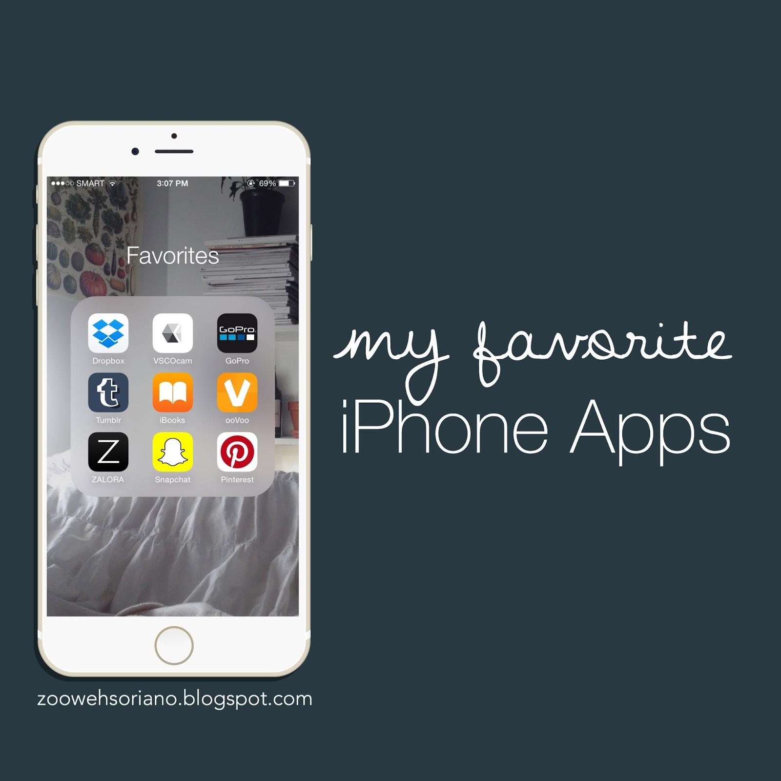 Favorite iPhone Apps - AyeItsZoe