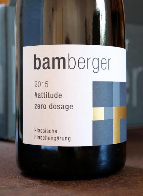 Sekt attitude zero dosage aus dem Wein- und Sektgut Bamberger.