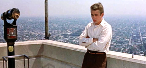 James Dean Griffith Observatory Los Angeles