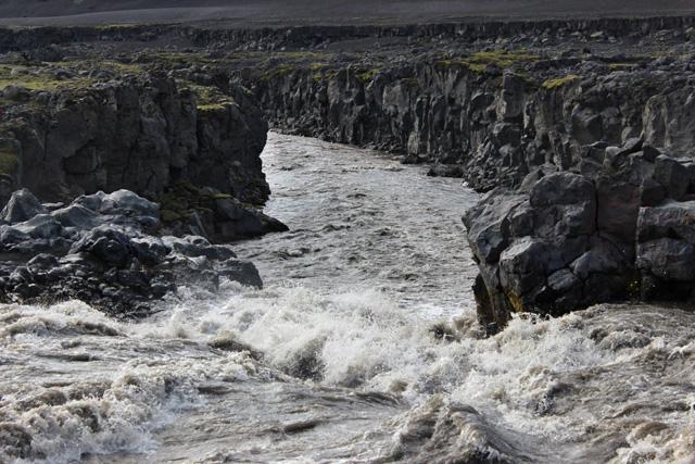 El río Nyrðri Emstruá