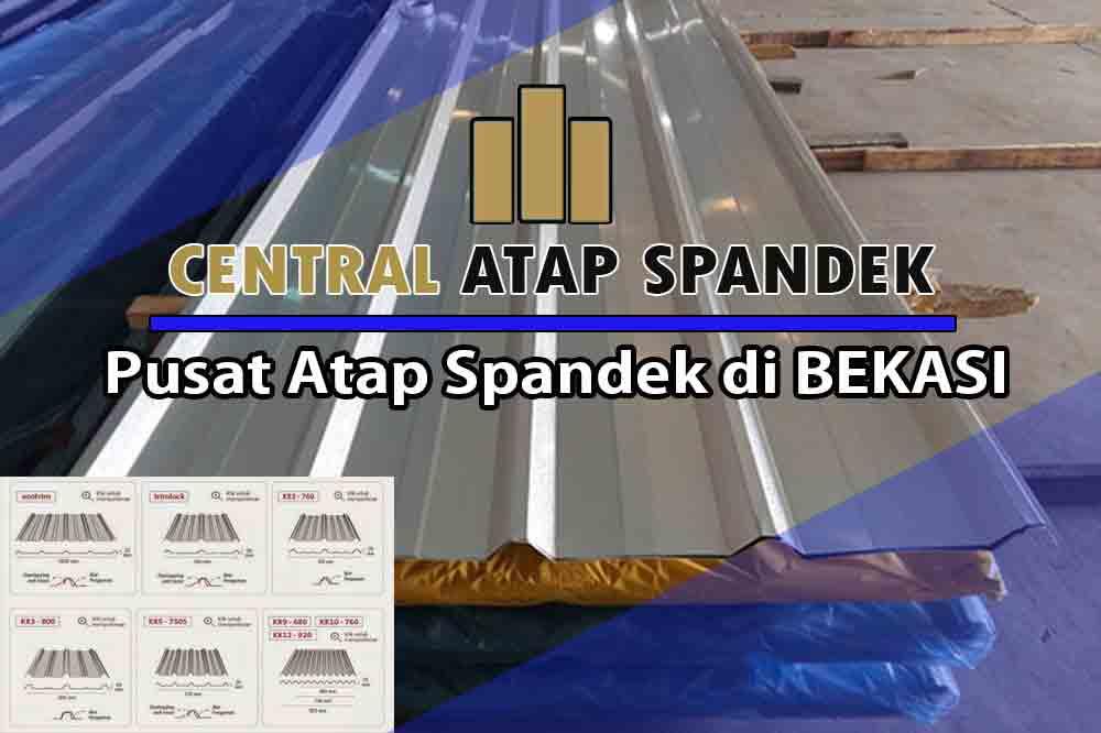 harga atap spandek bekasi per meter dan per lembar terbaru 2021