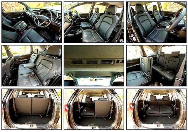 SUV Crossover Baru Honda BR-V 2017 - Interior