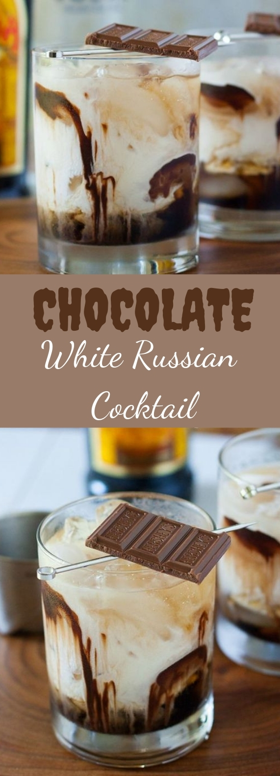 Chocolate White Russian #chocolate #cocktail