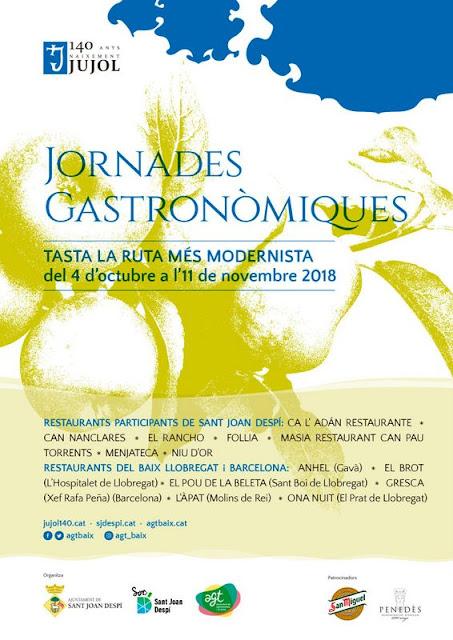 1er Jornades Gastronòmiques de Sant Joan Despí · Any Jujol,