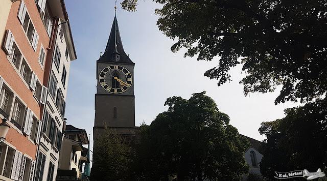 Igreja de São Pedro, Zurique, Suíça