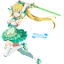 Tags: Render, ALfheim Online, Armpit, Arms up, Bare shoulders, Cleavage, Dress, Elf, Full body, High heels, Kirigaya Suguha, Large Breasts, Leafa, Ponytail, Skirt, Stockings, Sword Art Online, Thigh Highs
