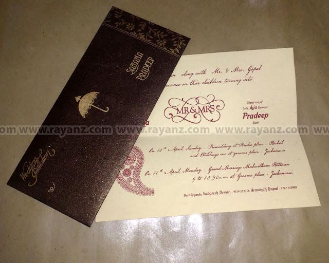 Wedding invitation card printing in Chennai